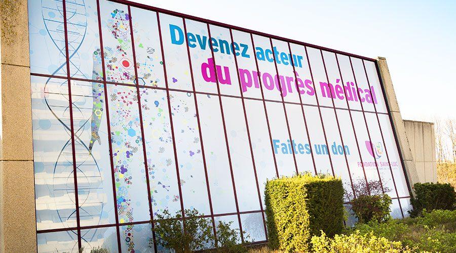 La Fondation Saint-Luc est le premier mécène des Cliniques universitaires Saint-Luc.